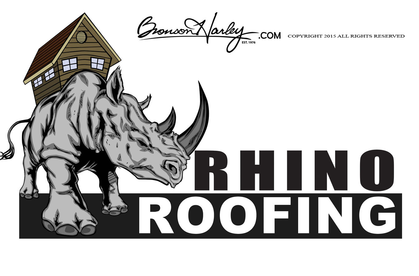 Here Are Some Of The Logo Designs I\u0027ve Created Throughout The Years. RHINO ROOFING RHINO ROOFING Sc 1 St Bronson Harley  sc 1 st  memphite.com & Rhino Roofing u0026 Here Are Some Of The Logo Designs I\u0027ve ... memphite.com